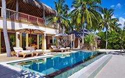 SIX SENSES LAAMU - 2 Bedroom Ocean Beach w Pool