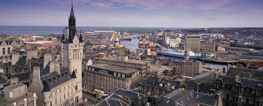 Atractii Aberdeen Anglia & Scotia - vezi vacantele