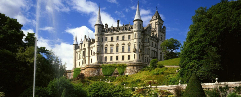 Atractii Castelul Dunrobin Anglia & Scotia - vezi vacantele