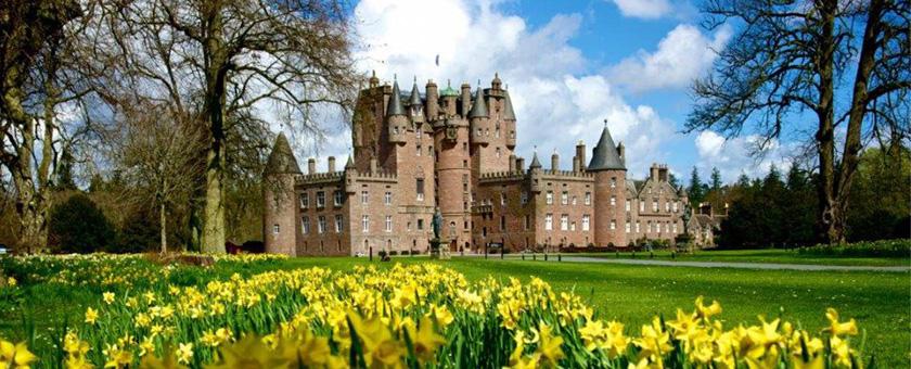 Atractii Castelul Glamis Anglia & Scotia - vezi vacantele