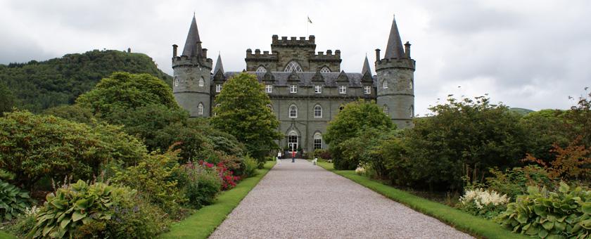 Atractii Castelul Inveraray Anglia & Scotia - vezi vacantele