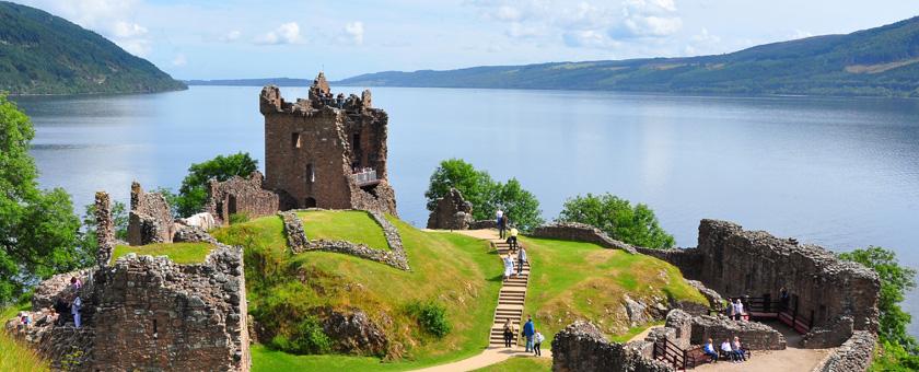 Atractii Castelul Urquhart Anglia & Scotia - vezi vacantele