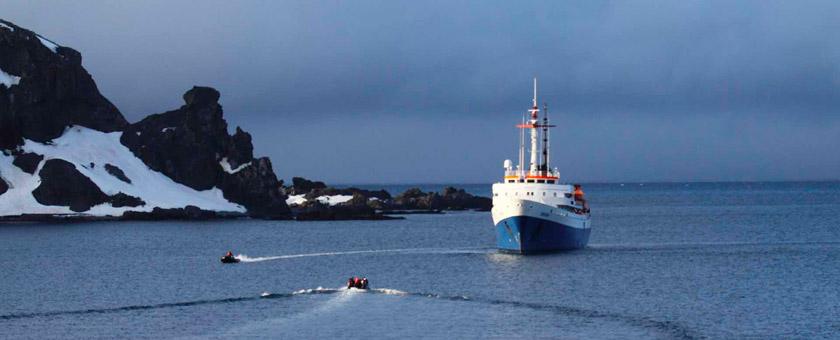 Atractii MV USHUAIA Antarctica - vezi vacantele