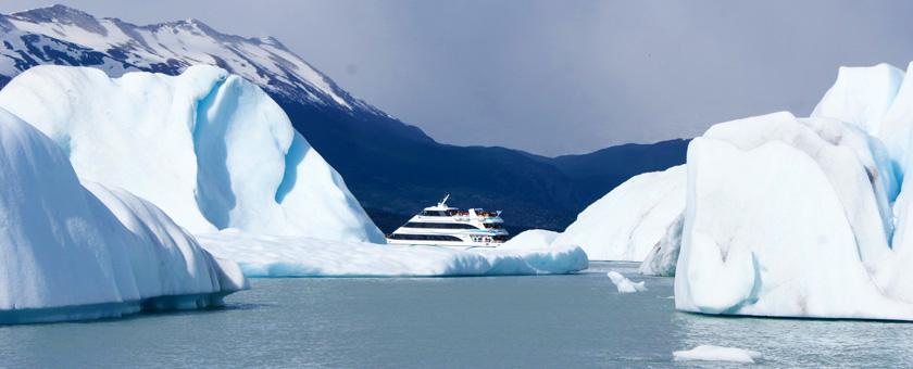 El Calafate: Croaziera pe Lacul Argentino, Argentina Poza realizata de Daniela Shah, noiembrie 2013