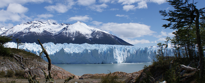 El Calafate: Ghetarul Perito Moreno, Argentina Poza realizata de Daniela Shah, octombrie 2009