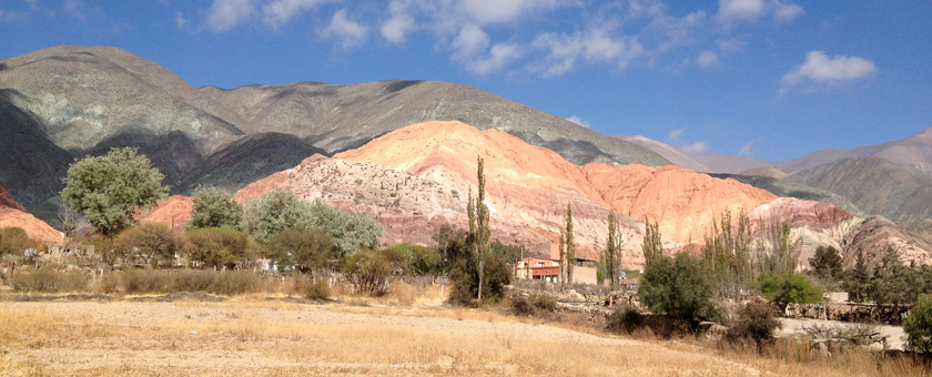 Purmamarca: Hill of Seven Colors, Argentina Poza realizata de Hardik Shah, septembrie 2014