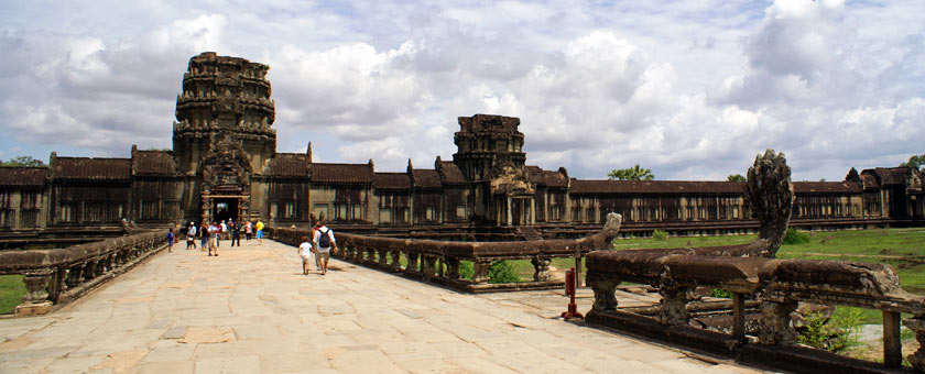Siem Reap templul Angkor, Cambodgia Poza realizata de Sorin Stoica, mai 2013