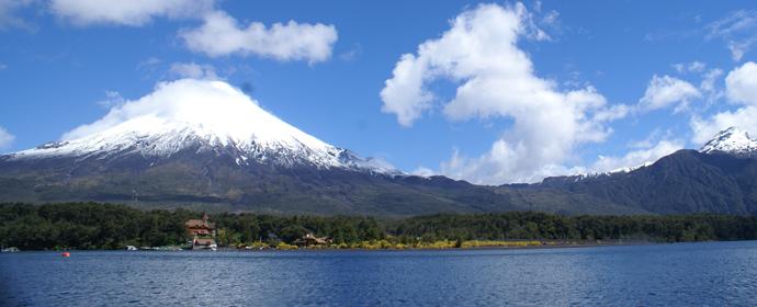 Puerto Varas: Vulcanul Osorno si Lacul Todos los Santos, Chile Poza realizata de Sorin Stoica, noiembrie 2013