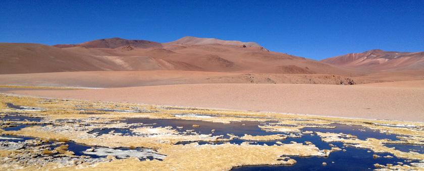 Peisaj in Desertul Atacama, Chile Poza realizata de Hardik Shah, septembrie 2014