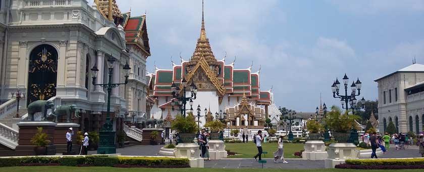 Palatul Regal din Bangkok, Thailanda Poza realizata de Claudia Otel, aprilie 2016