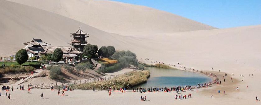 Atractii Dunhuang China - vezi vacantele
