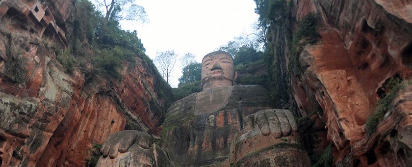 Atractii Marele Buddha din Leshan China - vezi vacantele