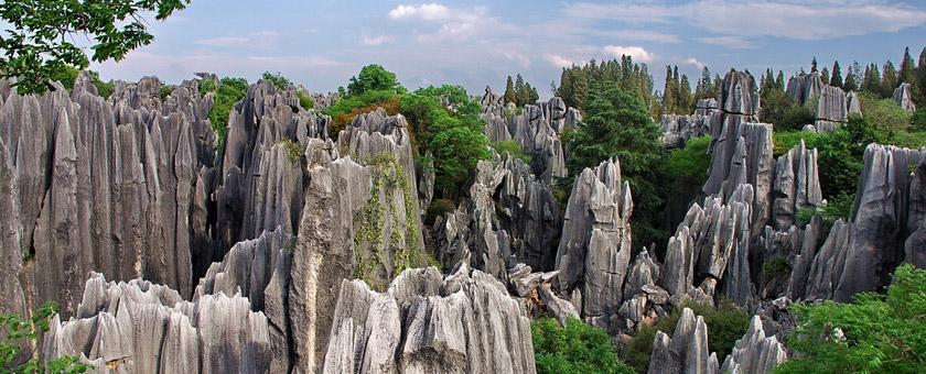 Atractii Padurea de Piatra de la Kunming China - vezi vacantele