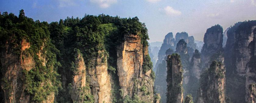 Atractii Parcul National Zhangjiajie China - vezi vacantele