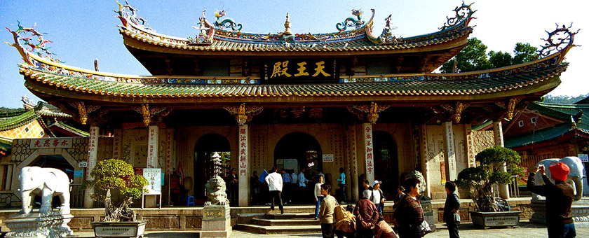 Atractii Templul Putuo China - vezi vacantele
