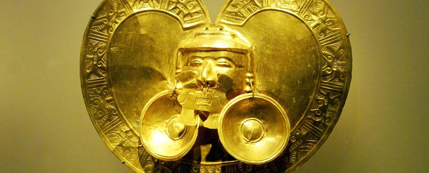 Muzeul Aurului din Bogota, Columbia Poza realizata de Sorin Stoica, noiembrie 2012
