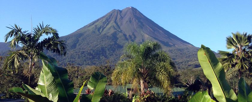 Vulcanul Arenal, Costa Rica Poza realizata de Raluca Avram, februarie 2015