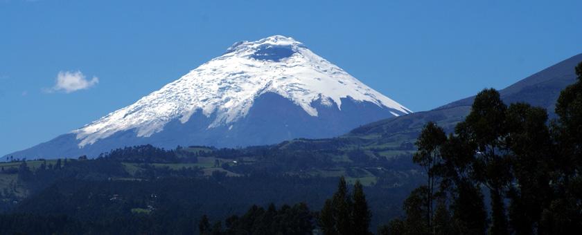 Vulcanul Cotopaxi, Ecuador Poza realizata de Sorin Stoica, noiembrie 2009