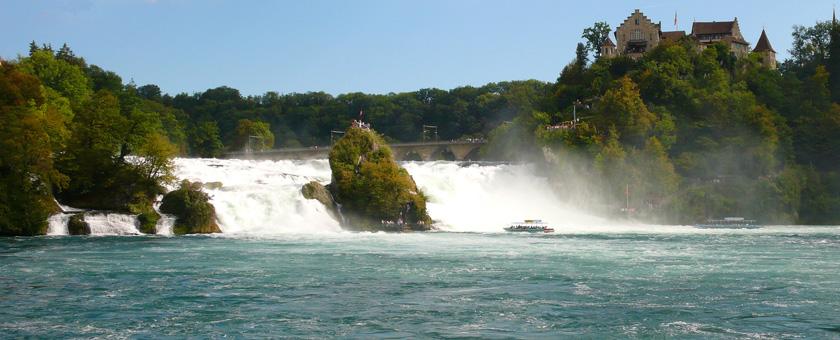 Atractii Rheinfall Elvetia - vezi vacantele