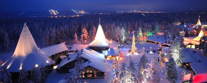 Atractii Satul lui Mos Craciun Finlanda - vezi vacantele