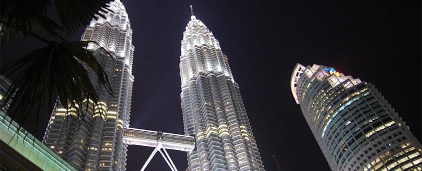 Kuala Lumpur: Turnurile Petronas, Malaezia Poza realizata de Andrei Dabija, septembrie 2014