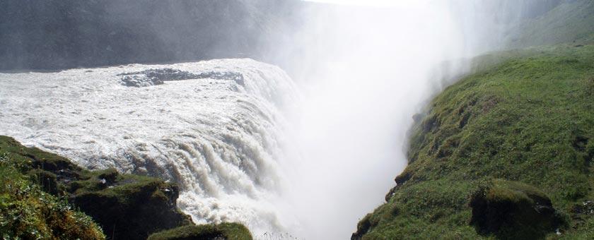 Atractii Cascada Gullfoss Islanda - vezi vacantele