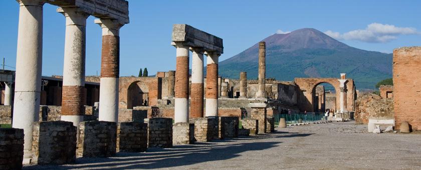 Atractii Pompei & Herculaneum Italia - vezi vacantele