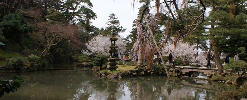 Atractii Kenroku-en Japonia - vezi vacantele