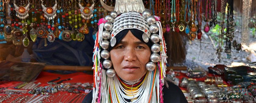 Etnicii Akha Laos