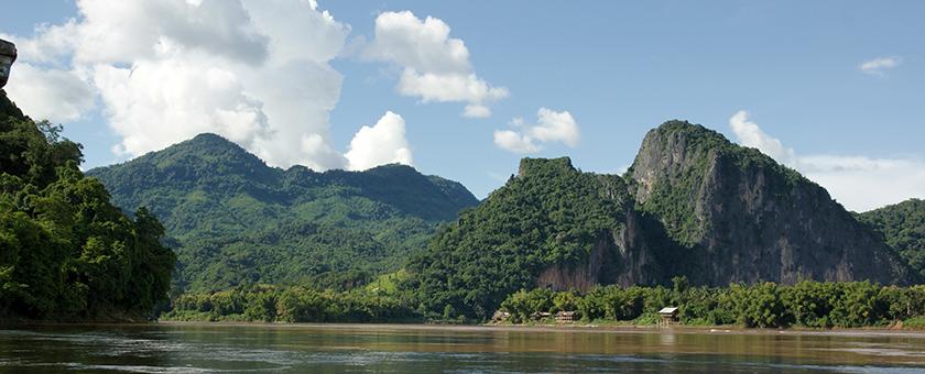 Fluviul Mekong Laos
