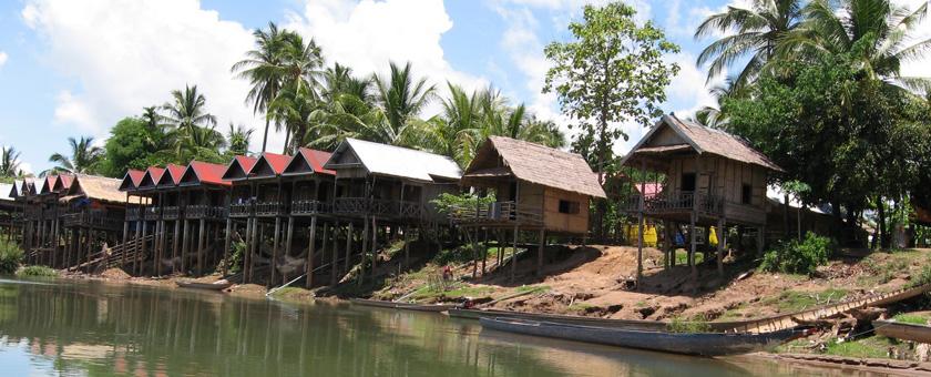 Insula Khong Laos