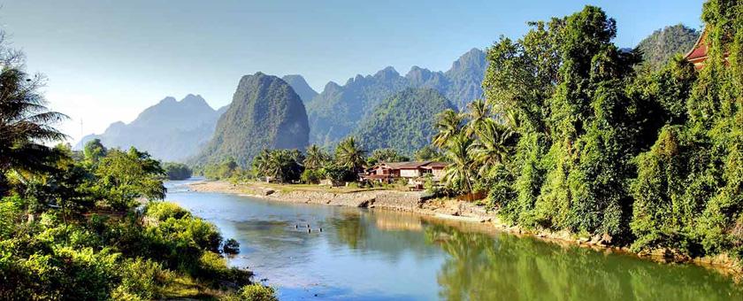 Zona de nord a Laos-ului Laos