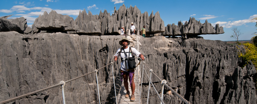 Atractii Tsingy de Bemaraha Madagascar - vezi vacantele