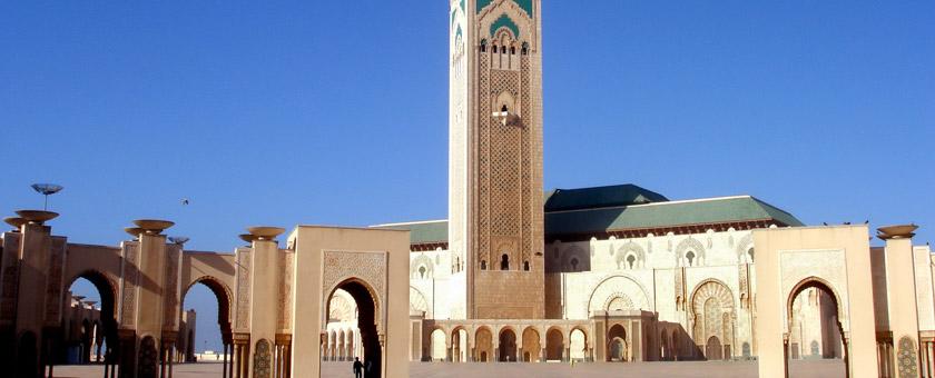 Atractii Moscheea Hassan II Maroc - vezi vacantele