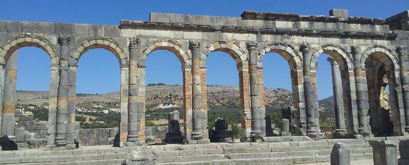 Atractii Volubilis Maroc - vezi vacantele