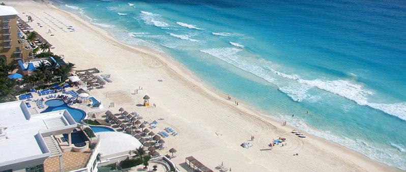View from Secrets The Vine Cancun, Mexic Poza realizata de Corina Filip, septembrie 2014