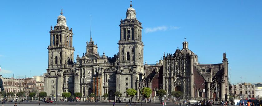 Catedrala Metropolitana din Ciudad de Mexico, Mexic Poza realizata de Corina Filip, februarie 2015