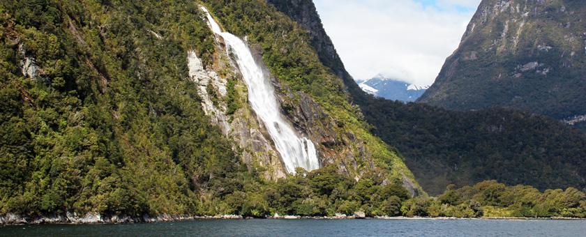 Milford Sound, Noua Zeelanda Poza realizata de Alexandra Parvu, octombrie 2015