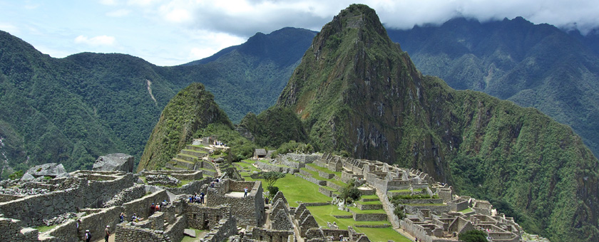 Machu Picchu, Peru Poza realizata de Simona Hurjui, august 2013