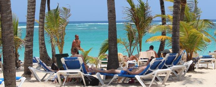 Plaja Bavaro Punta Cana, Republica Dominicana Poza realizata de Alexandra Parvu, Mai 2015