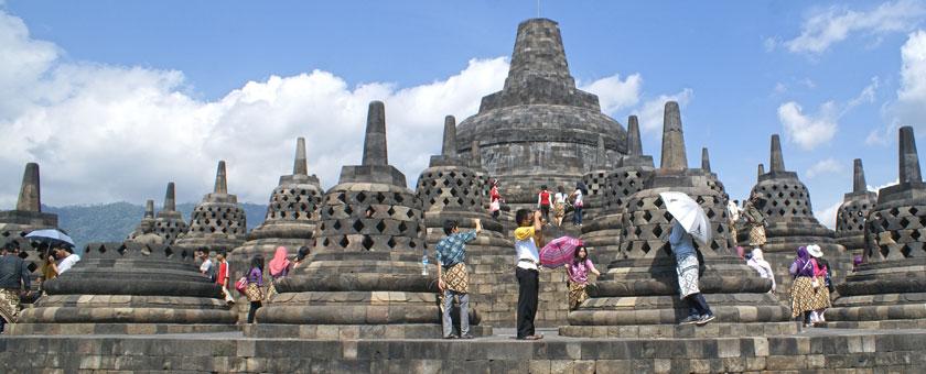 Templul Borobodur, Jogjakarta, Indonezia Poza realizata de Sorin Stoica, Mai 2012
