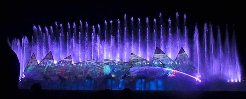 Atractii Magical Sentosa Show Singapore - vezi vacantele