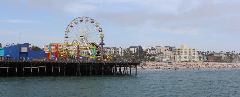 Atractii Santa Monica Statele Unite ale Americii - vezi vacantele