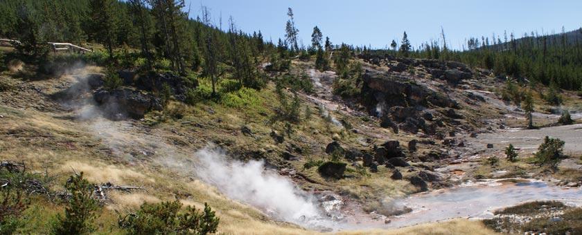 Atractii Yellowstone Statele Unite ale Americii - vezi vacantele