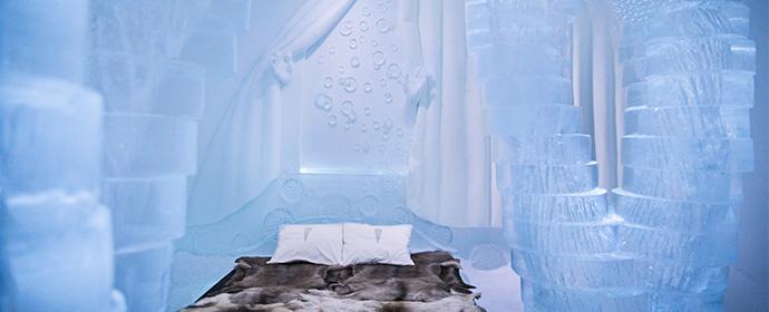 Atractii Hotelul de gheata Suedia - vezi vacantele