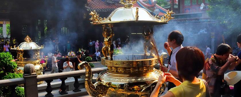 Atractii Templul Longshan Taiwan - vezi vacantele