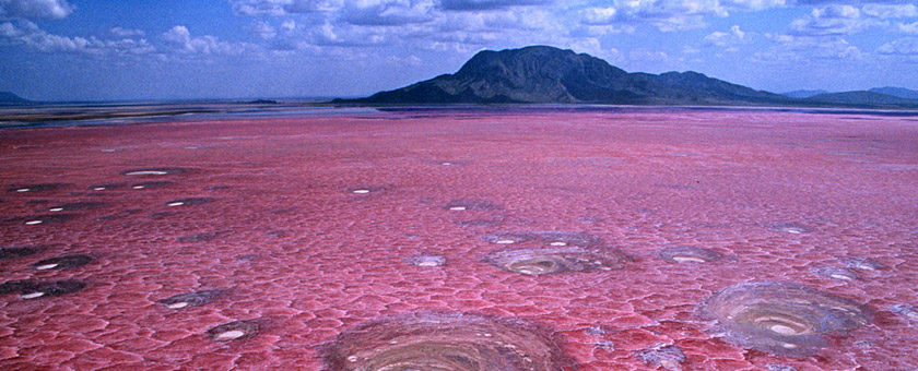 Atractii Lacul Natron Tanzania - vezi vacantele