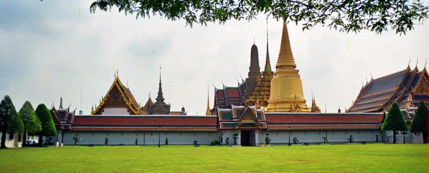 Bangkok Palatul Regal, Thailanda Poza realizata de Daniela Shah, Noiembrie 2001