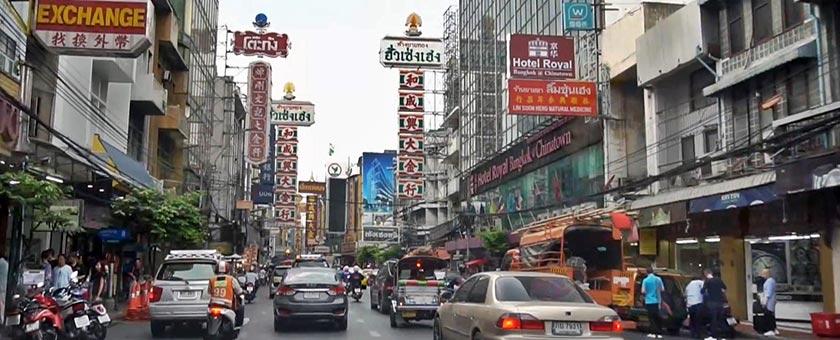 Chinatown Bangkok Thailanda