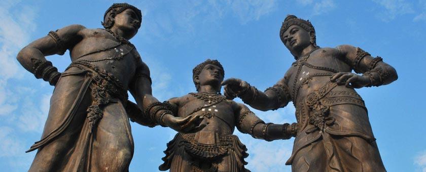 Monumentul Celor Trei Regi Thailanda